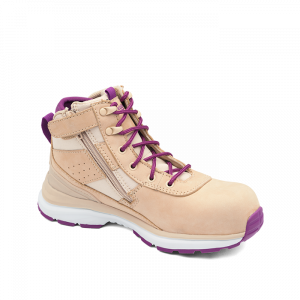 BLUNDSTONE 885 Ladies Sand Zip Side Safety Boot