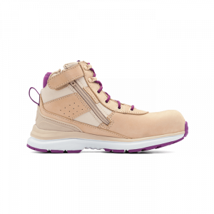 BLUNDSTONE 885 WOMEN'S SAFETY SERIES SAFETY JOGGERS - SAND & PURPLE