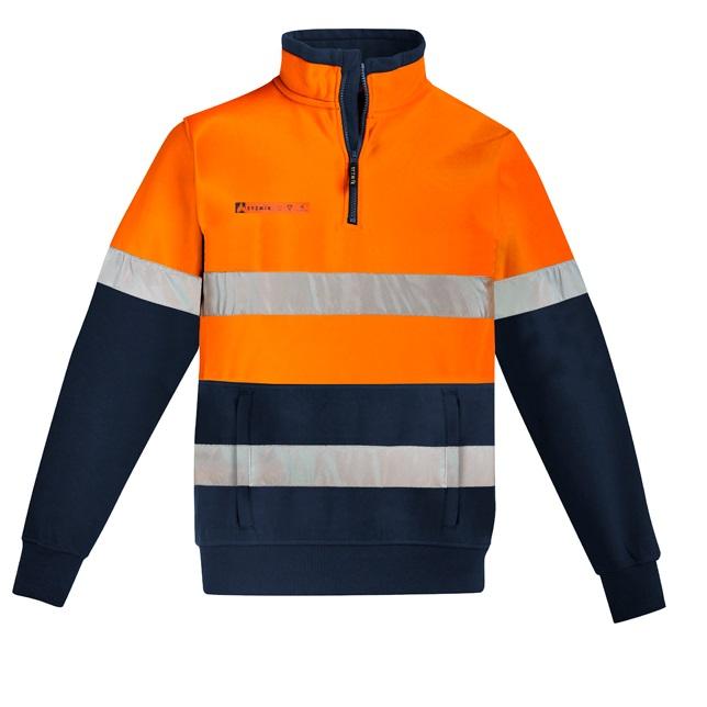 Coalface Workwear Syzmik ZT150_OrangeNavy_F