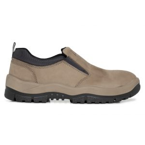 Mongrel 315060 Slip On Safety Shoe Stone