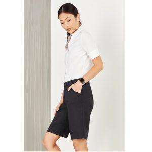Bizcare CL957LS Women's Comfort Waist Cargo Short
