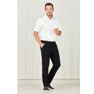 Bizcare CL958ML Mens Comfort Waist Flat Front Pant