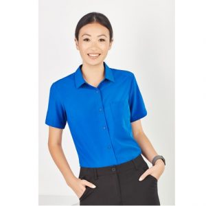 Bizcare CS947LS Women's Plain S/S Shirt