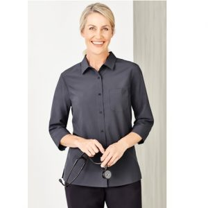 Bizcare CS951LT Women's Easy Stretch 3/4 Sleeve Shirt