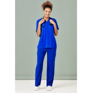 Bizcare CSP944LL Womens Multi-Pocket Straight Leg Pant