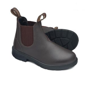 Blundstone 630 Kids Slip On Boots Brown