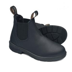Blundstone 631 Black Kids Slip On Boots