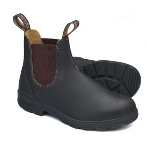 Blundstone 600 Slip On Non Safety Boots Stout Brown