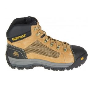 Caterpillar Convex Mid 720053 Zip Side Safety Boot