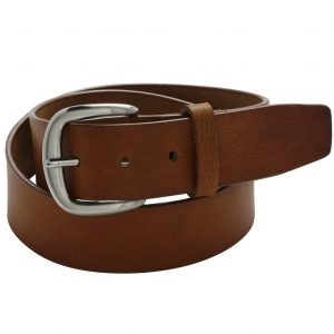 5521 CHAD38 Men's Full Grain Buffalo Leather Belt