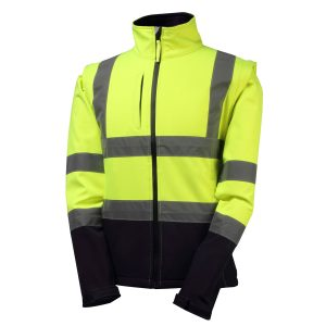 8430 Rainbird Landy Soft Shell Hi Vis Jacket