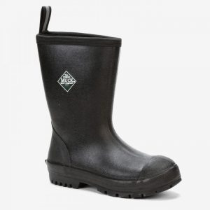 SCHM Swanndri Chore Mid Black Boot