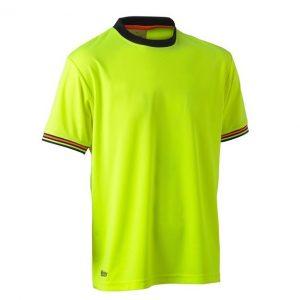 Bisley BK1220 Hi Vis Polyester Mesh S/S T-Shirt