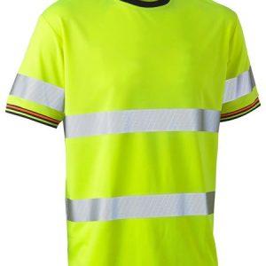 Bisley BK1220T Taped Hi Vis Polyester Mesh Short Sleeve T-Shirt