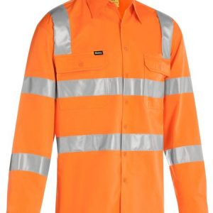 Bisley BS6016T Taped Hi Vis Bio Motion Shirt