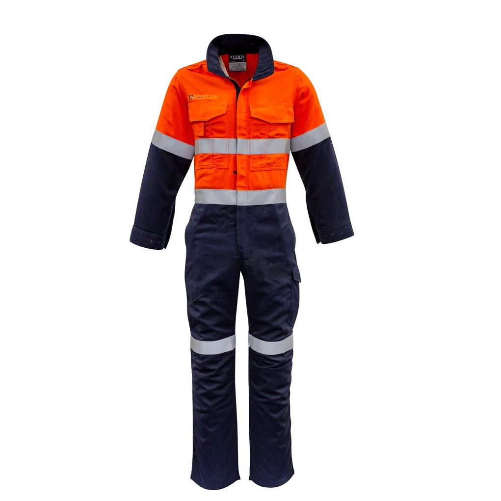 Coalface Workwear Syzmik ZC525_OrangeNavy_F