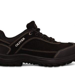 Oliver 34-613 Black Lace Up Jogger