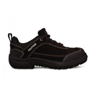Oliver 34-613 Safety Black Lace Up Jogger