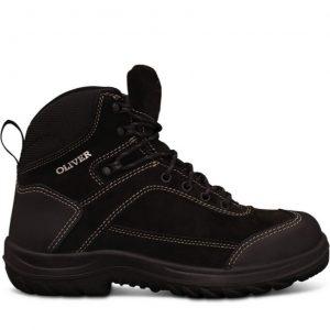 Oliver 34-623 Black Lace Up Ankle Jogger