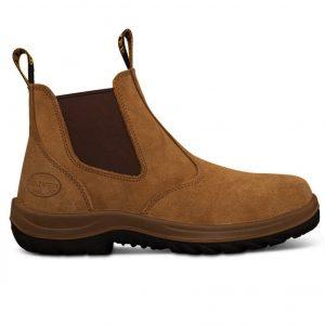 Oliver 34-624 Safety Beige Elastic Sided Boot