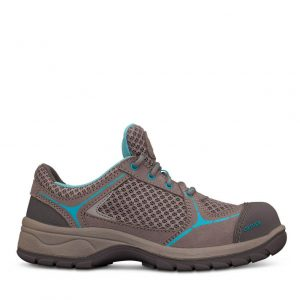 Oliver 49-414 Safety Women's Grey/Blue Lace Up Jogger