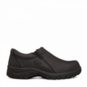 Oliver 49-430 Women's Black Slip On Shoe