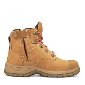Oliver 49-432Z Safety Womens Wheat Zip Sided Boot