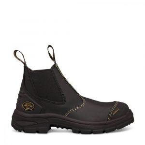 Oliver 55-320 Black Elastic Sided Boot