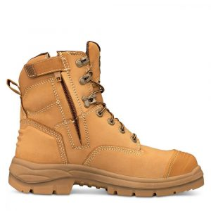 Oliver 55-332Z Safety 150mm Wheat Zip Sided Boot