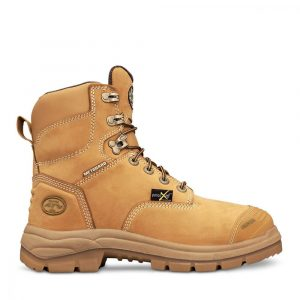 Oliver 55-336 Safety 150mm Wheat Lace Up Met Boot