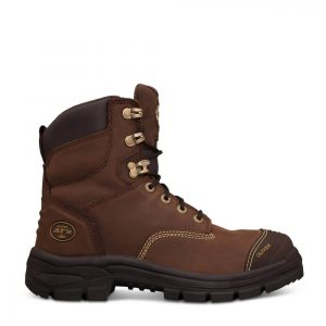 Oliver 55-337 Safety 150mm Brown Lace Up Boot