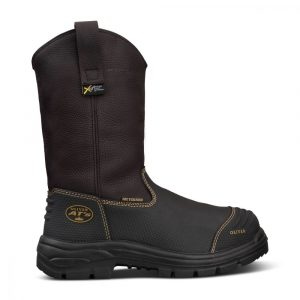 Oliver 65-493 240mm Brown Pull On Riggers Boot - 100% Waterproof