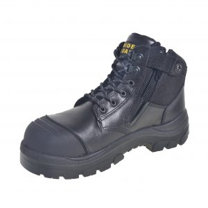 Wide Load 690BZN - 6inch Black Non Steel Toe Zip Up Boot