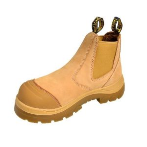 Wide Load 490WPO- Wheat Elastic Sided Pull On Work Boot