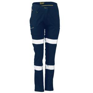 Bisley BPL6015T Women's Taped Stretch Cotton Pants