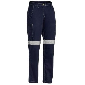 BISLEY BPL6431T WOMENS 3M TAPED COOL VENTED LIGHT WEIGHT PANT