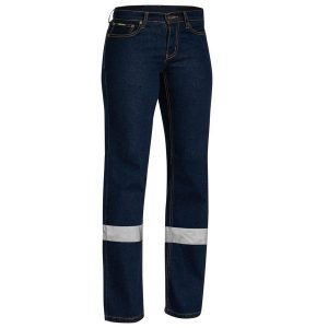 BISLEY BPL6712T WOMENS TAPED STRETCH JEANS