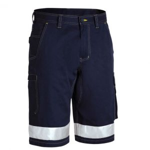 Bisley BSHC1432T 3M TAPED COOL VENTED LIGHTWEIGHT CARGO SHORT