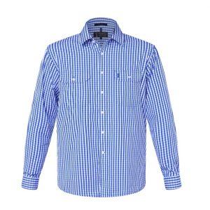 Pilbara RMPC004 Men's Check L/S Shirt