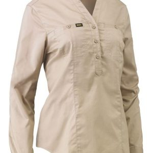 Bisley BLC6063 Womens Stretch V Neck Shirt