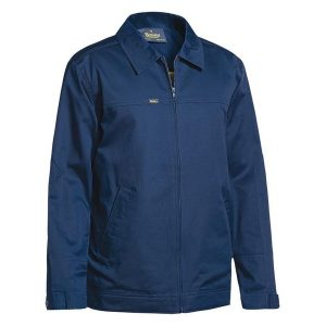 Bisley BJ6916 COTTON DRILL JACKET WITH LIQUID REPELLENT FINISH