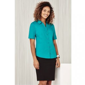 Bizcare S770LS LADIES MONACO SHORT SLEEVE SHIRT