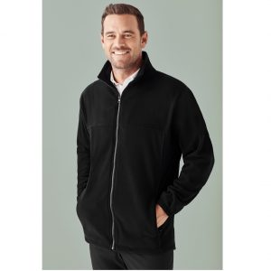 Biz Care PF630 MENS PLAIN MICRO FLEECE JACKET