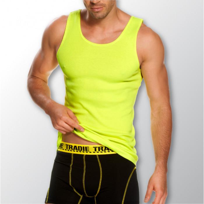 mj1653sc_tradie_hivis_singlet_yellow_grey_back
