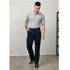 Biz Collection BS10110S MENS DETROIT PANT - STOUT
