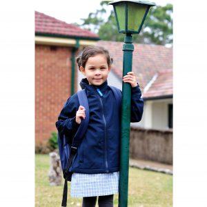 Rainbird K8576 Elliot Kids Softshell Jacket