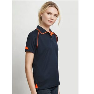 Biz Collection P29022 LADIES FUSION POLO