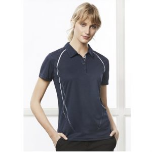 Biz Collection P604LS LADIES CYBER POLO