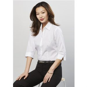 Biz Collection S10521 LADIES BASE 3/4 SLEEVE SHIRT