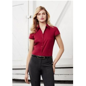 Biz Collection S119LN LADIES METRO CAP SLEEVE SHIRT